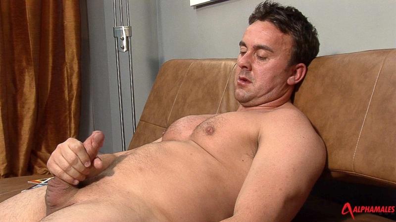 Solo gay pornstar hunk