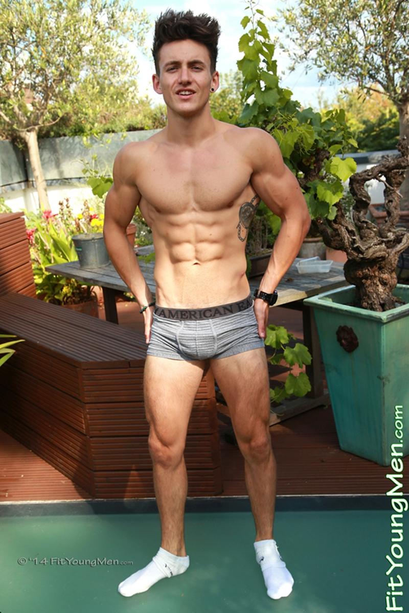 Travis Banfield Stripped To His Underwear  Gay Porn Star -9794