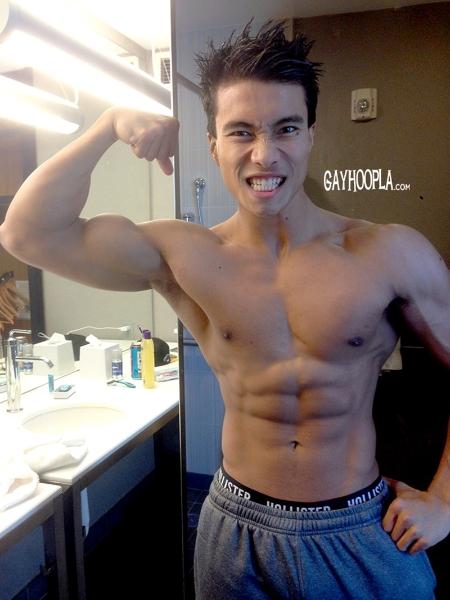 sexy naked korean guy