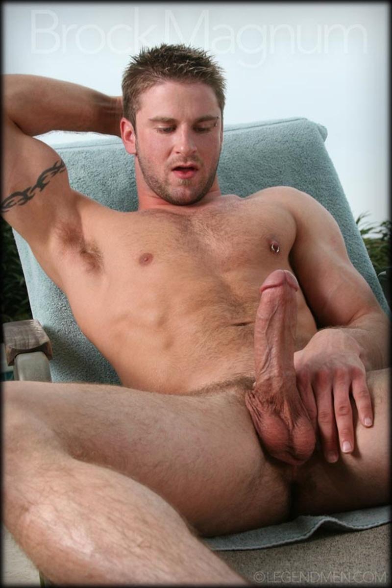 Brock Magnum  Gay Porn Star Pics  Legend Men  Curved Thick Dick-3379