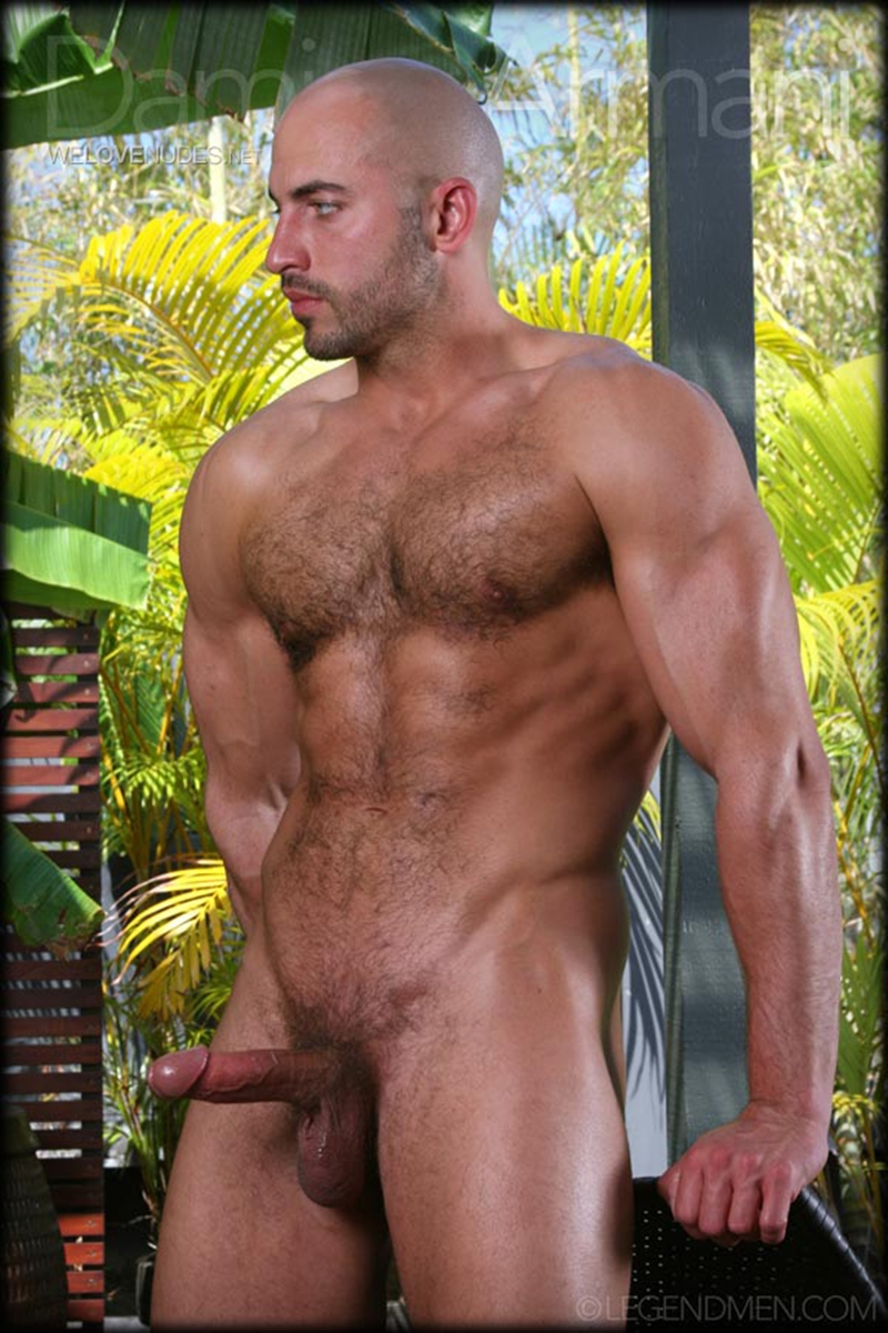 Damian Armani  Gay Porn Star Pics  Huge Load Muscle -5877