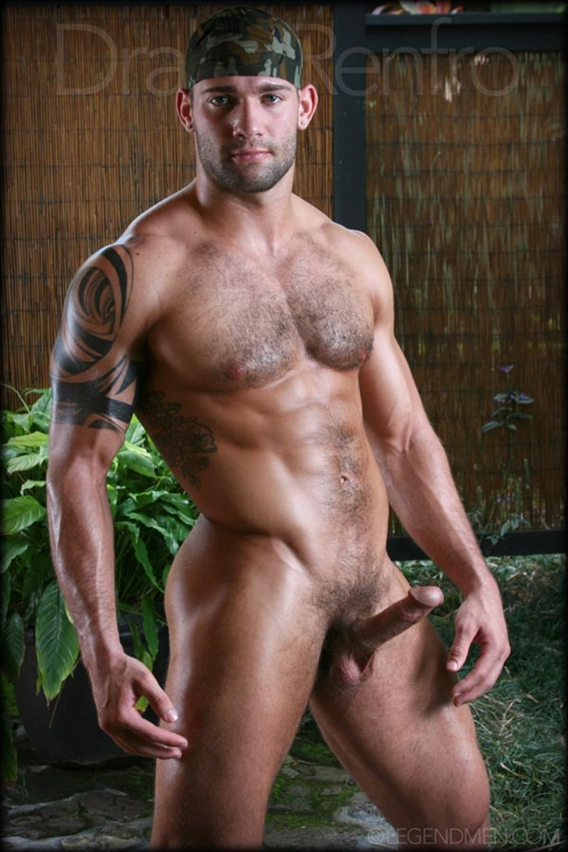 Muscle Men Gay Porn drake renfro gay porn star pics very thick cock muscle