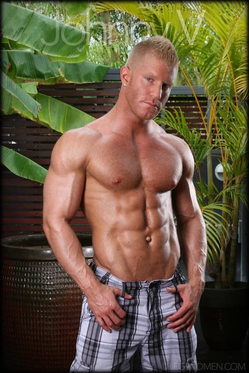 Johnny V  Gay Porn Star Pics  Nude Bodybuilder Huge -2823
