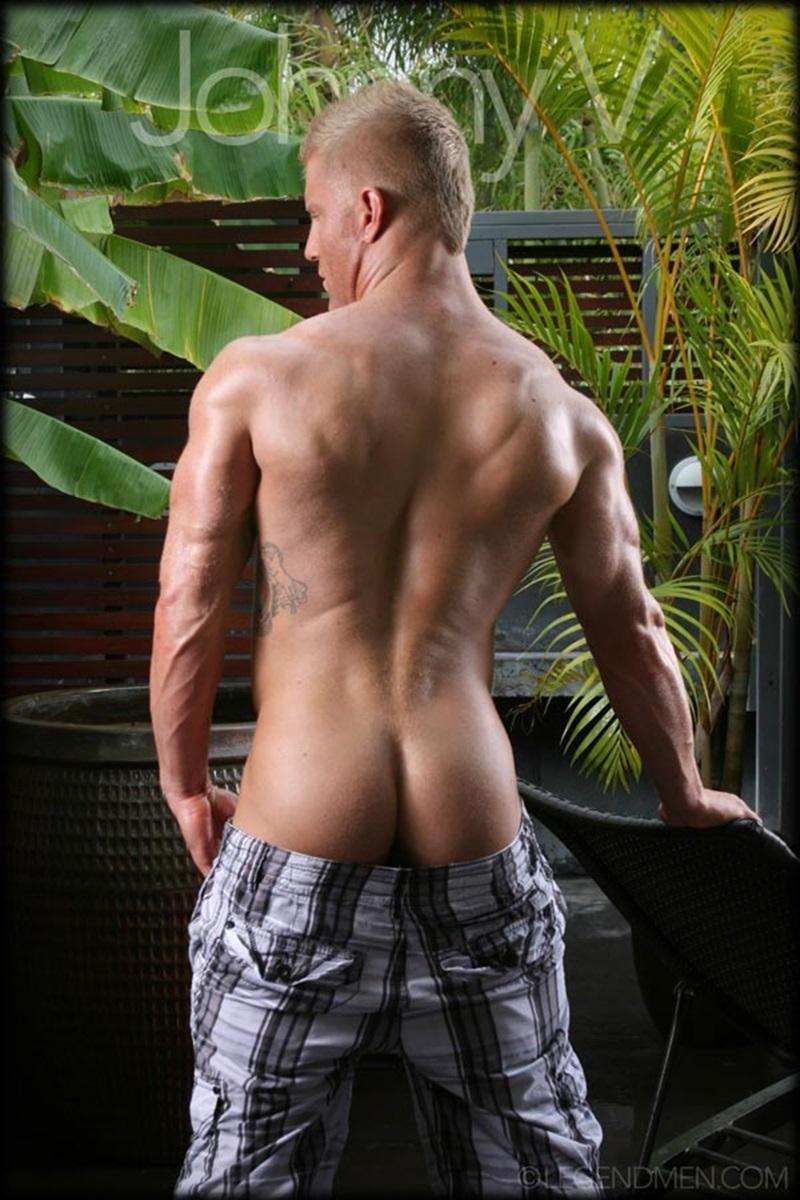 Johnny V  Gay Porn Star Pics  Nude Bodybuilder Huge -8797