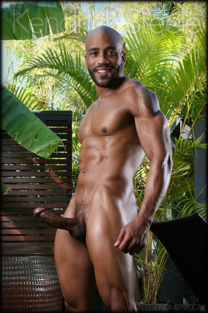 Sexy Black Naked Guys