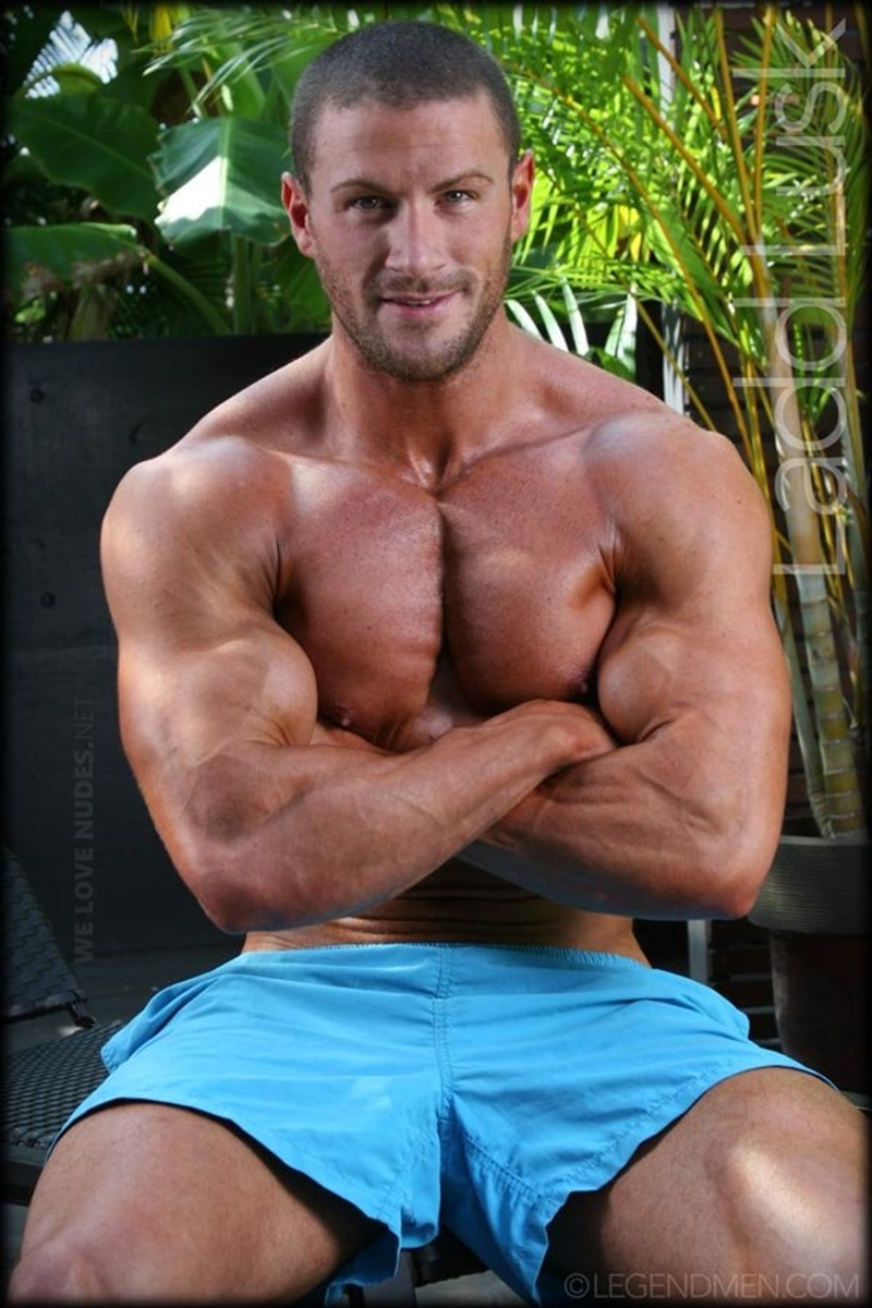Ladd Lusk  Gay Porn Star Pics  Legend Men  Handsome -3662