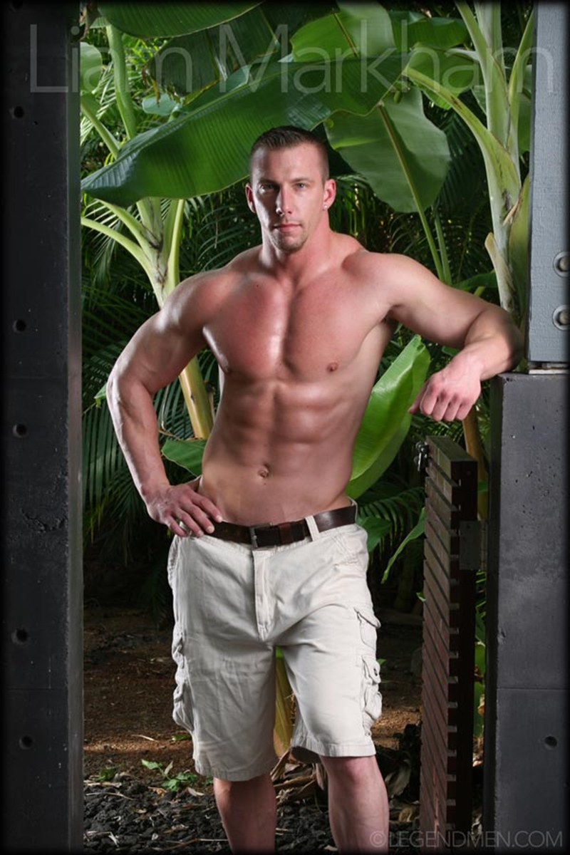 Liam Markham  Gay Porn Star Pics  Naked Muscle -6993