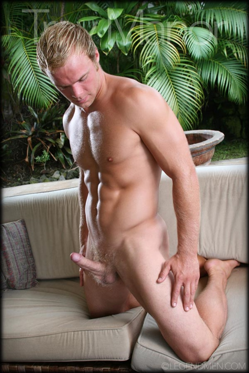 Trey Manor  Gay Porn Star Pics  Nude Blond Muscle -5610