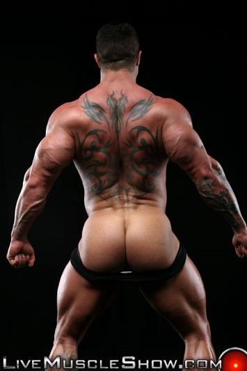 Kurt Beckmann  Nude Bodybuilder Muscle Ass  Live Muscle Show-4263