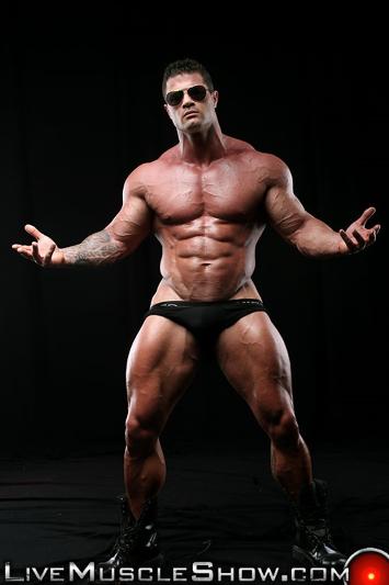 Kurt Beckmann  Nude Bodybuilder Muscle Ass  Live Muscle Show-8068