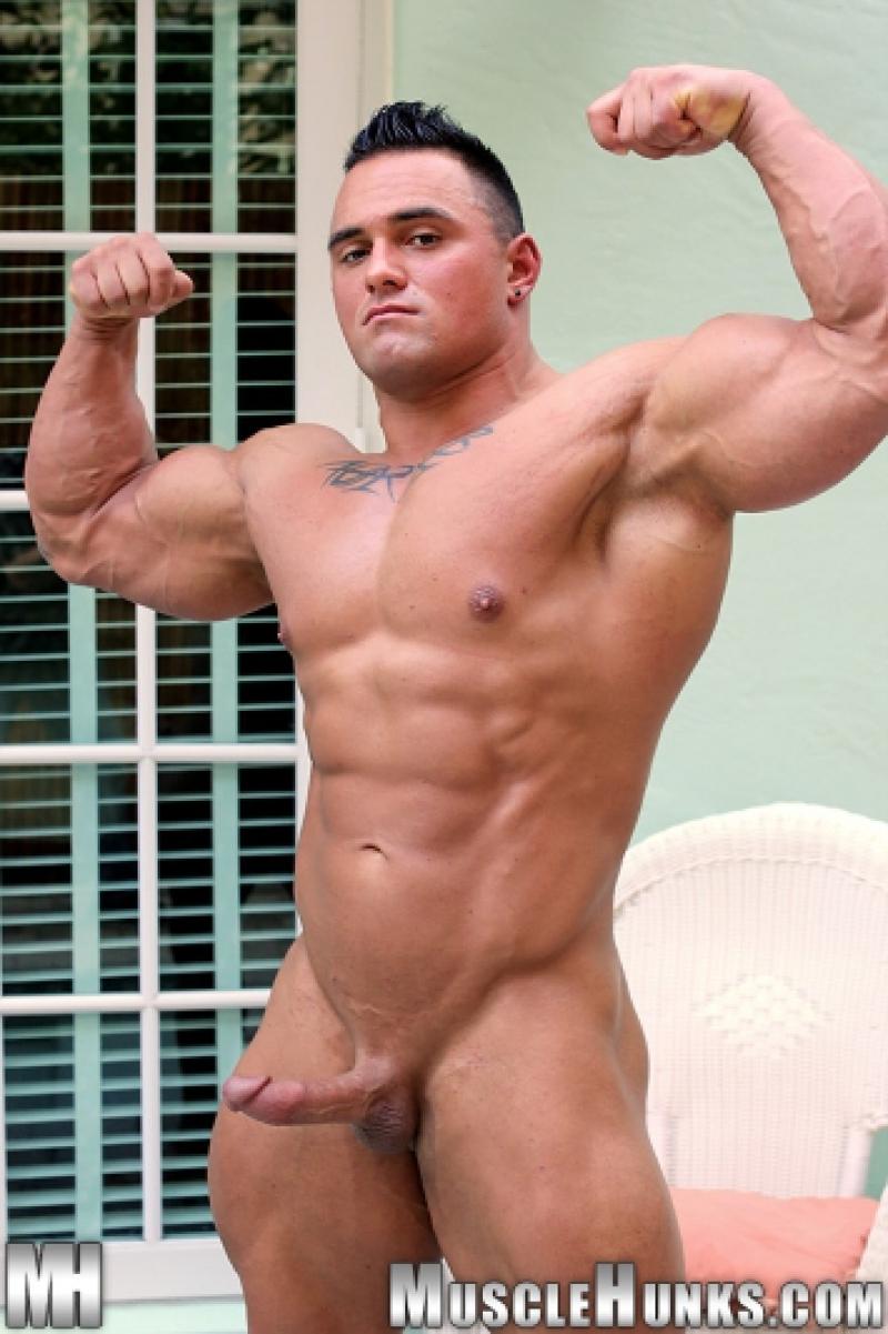 Muscly Tattooed Bi Hunks