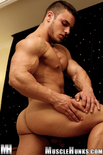 Gay Porn Pics  Kevin Conrad  Muscle Men  Dirty Boy Reviews-2226