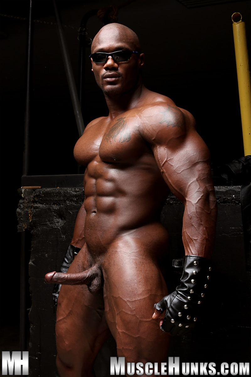 Black gay muscle