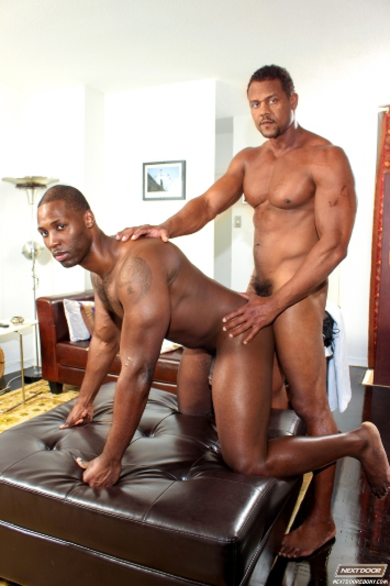 porn naked men black