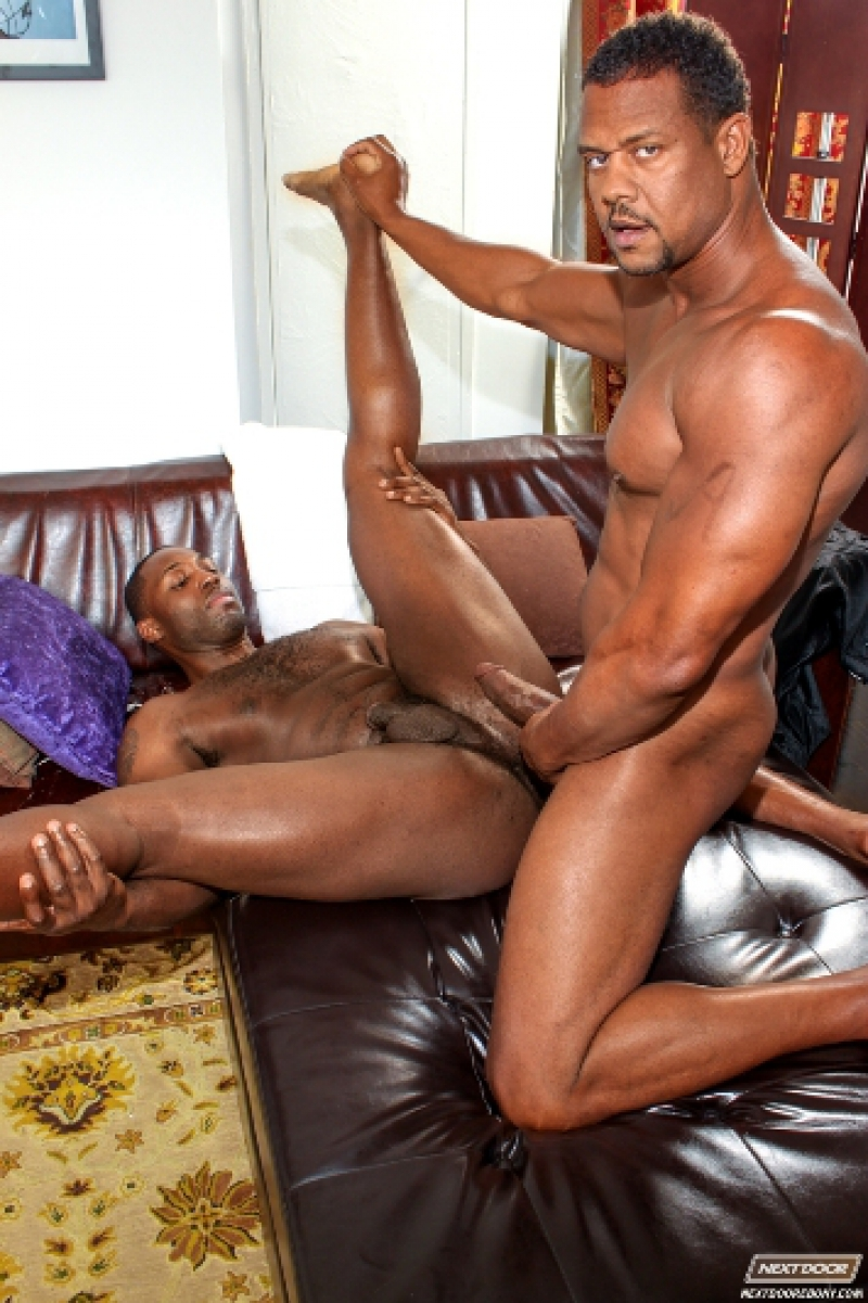 Ebony gay male videos