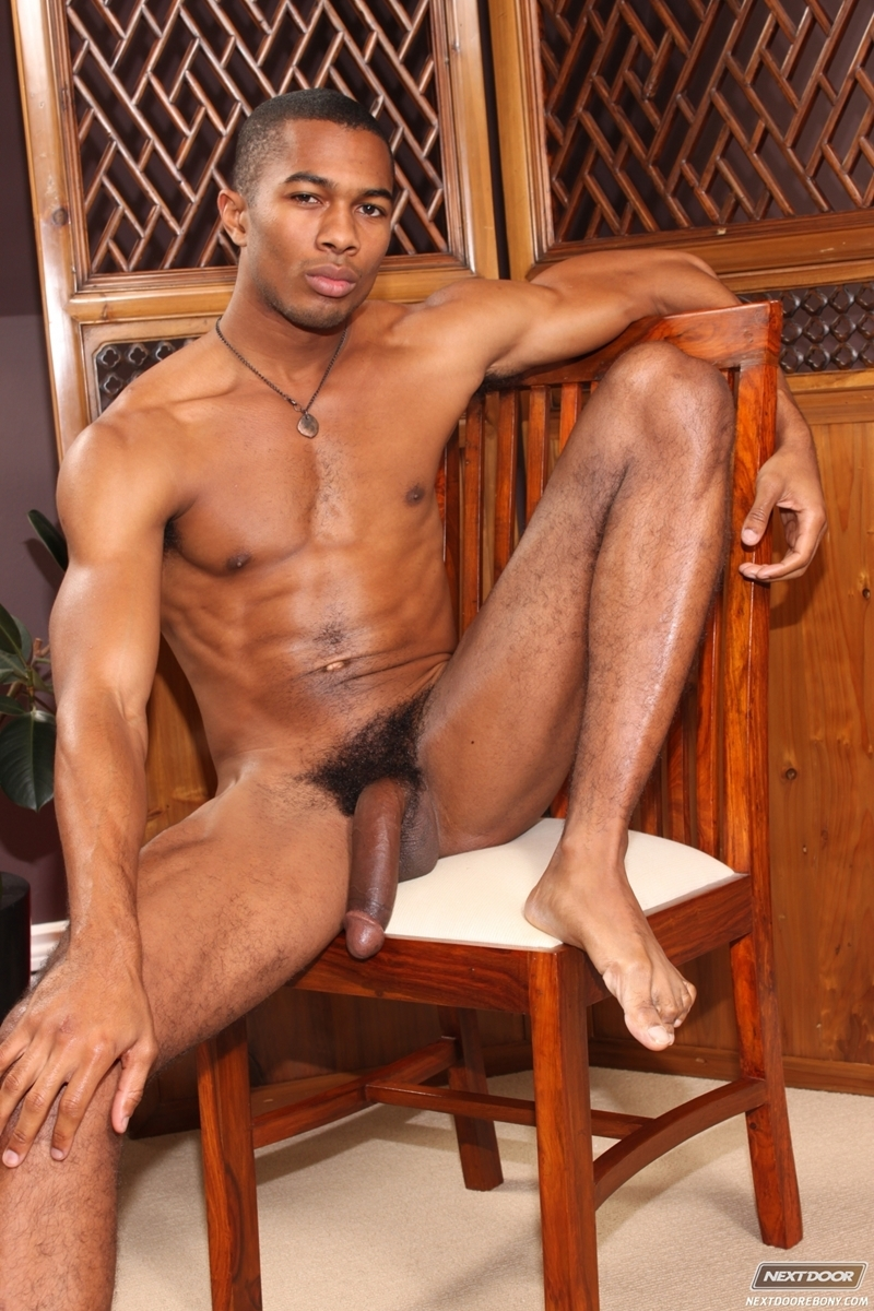 Sean Xavier  Gay Porn Star Pics  Huge Black Dick  Dirty -7233