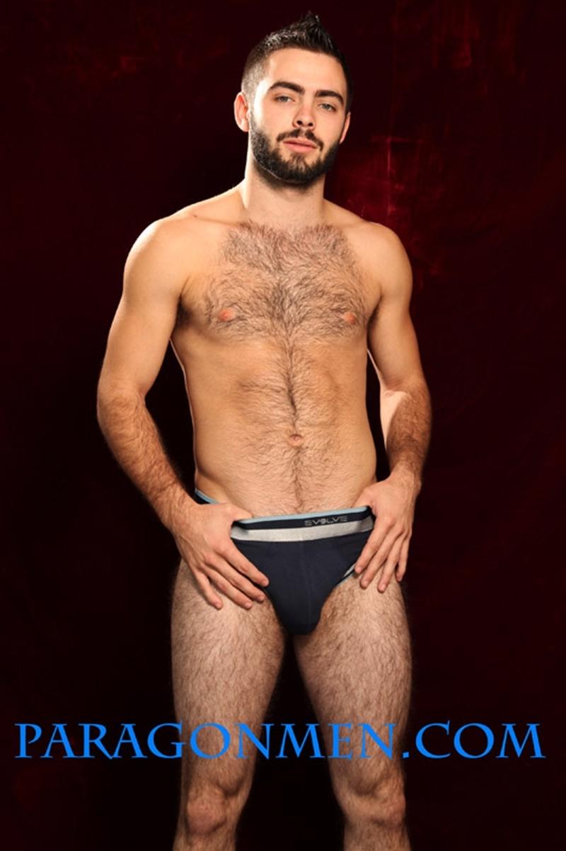 Nude men touching nude men