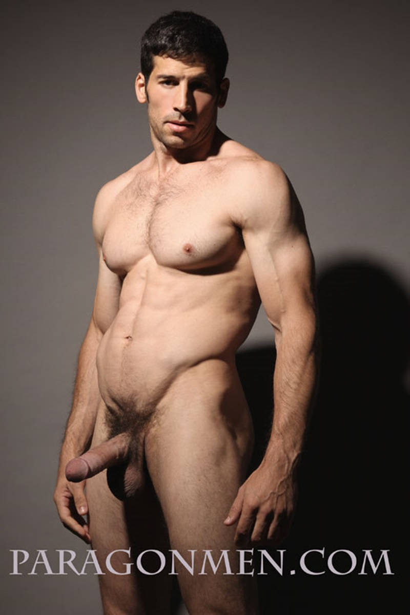 Sexy Muscle Hunk Leo Giamanis Thick Soft Dick Gets Hard -6400