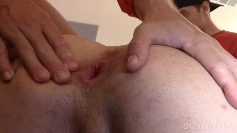 Hot gay flip flop and facial cum