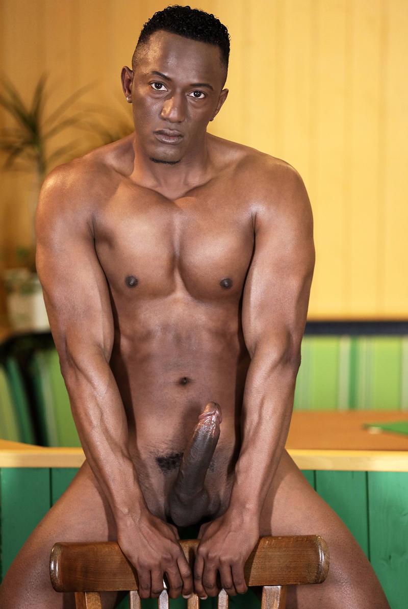 Hunk nude black sex