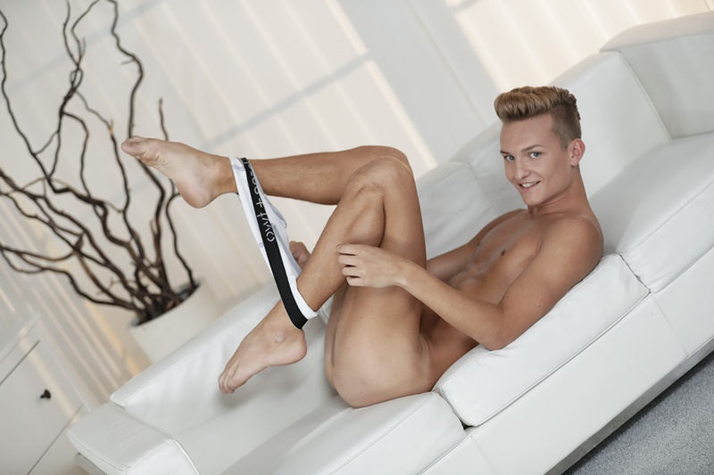 Staxus sexy nude young dude Lucas Drake gets his his boy ...
