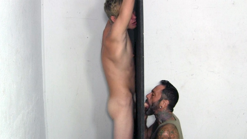 Boy Gets Sucked By A Glory Hole