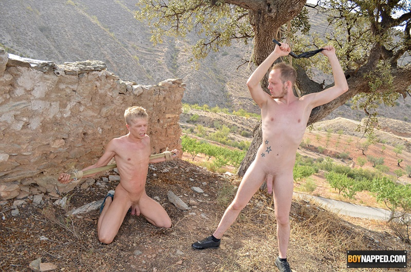 Teen boys bondage gay captive fuck slave