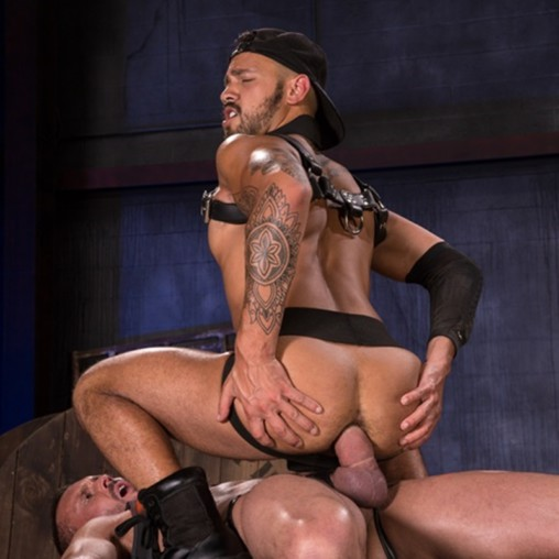 Malek Rimmed And Anal Fuck Aquiles Hard From Behind