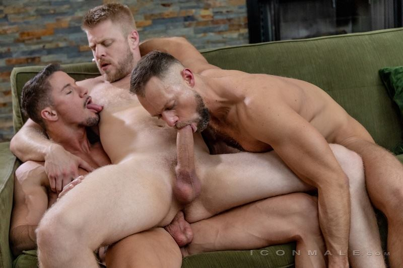 Bubble butt gay male big dick threesome Hot Daddy Threesome Zayne Roman Logan Stevens And Skyy Knoxs S Huge Thick Dick Anal Fuck Fest At Icon Male Dirty Boy Reviews